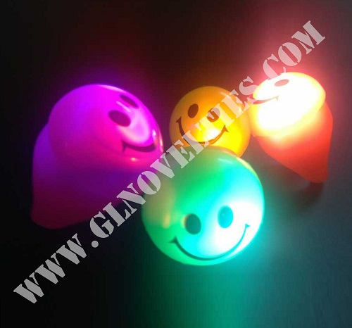 Light Up Smile Ring XY-2419