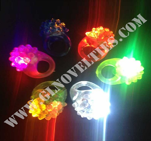 Light Up Bumpy Ring XY-2413