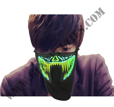 Sound Activated Led Mask XY-2691