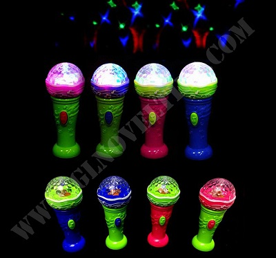 Light Up Microphone with Mgaic Ball & Music XY-2754