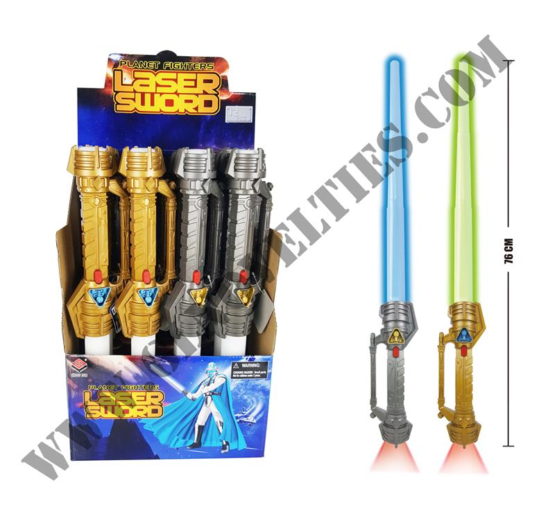 Light Up Space Laser Sword XY-1874