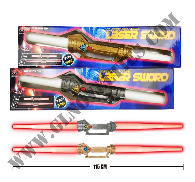 Light Up Dual Blades Space Sword XY-1878