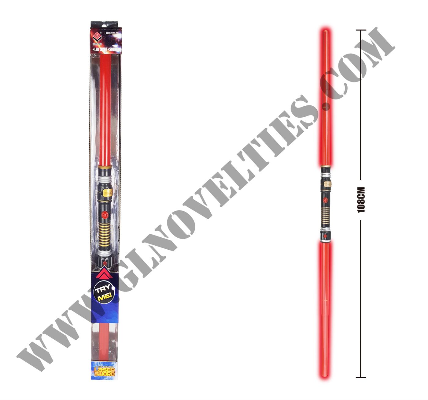 Light Up Dual Blades Space Sword XY-1891